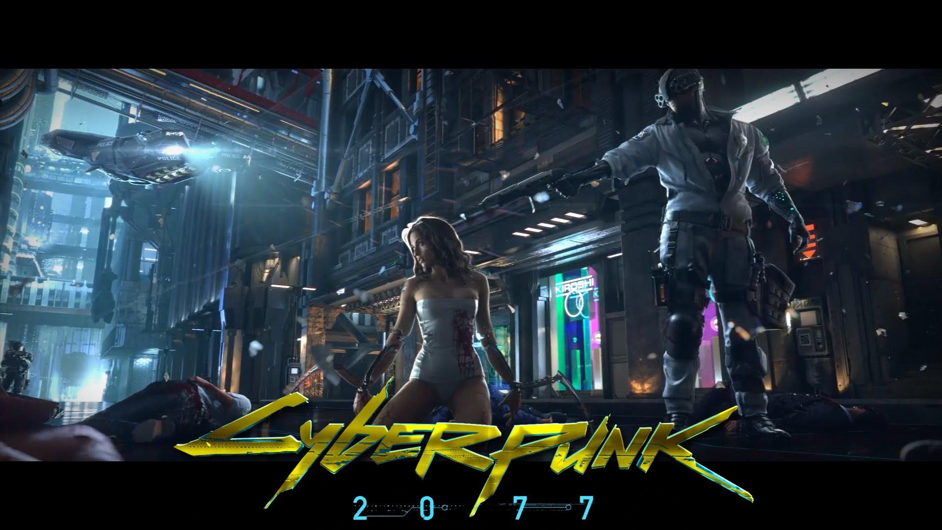 Teaser Cyberpunk 2077