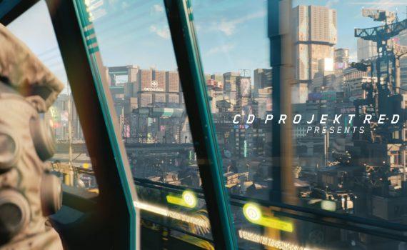 Imagem cidade cyberpunk 2077