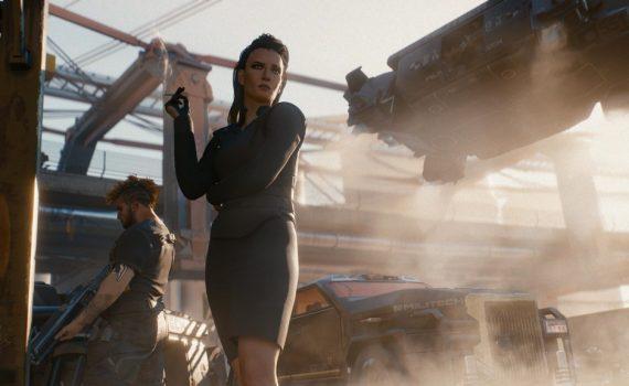 mulher no cyberpunk 2077