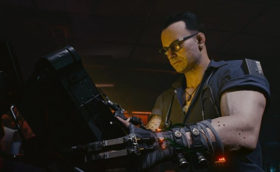 Clínica no Cyberpunk 2077