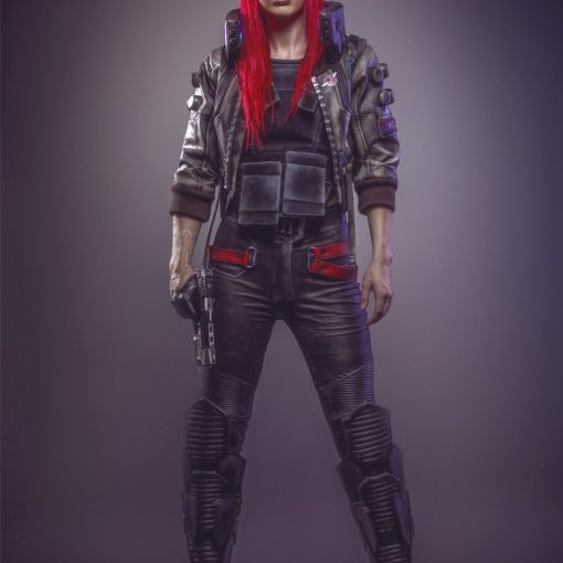 protagonista mulher cyberpunk 2077