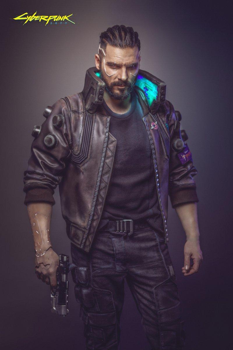 protagonista masculino cyberpunk 2077
