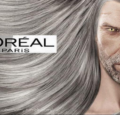 Cabelo do Geralt The Witcher 3
