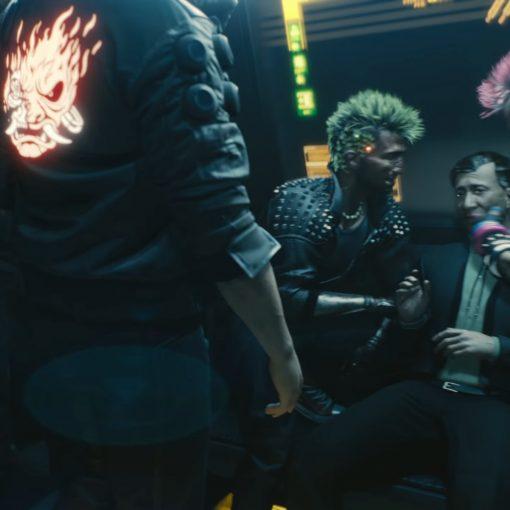 Jaqueta da banda Samurai Cyberpunk 2077