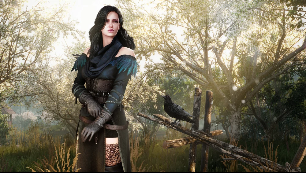 Yennefer em The Witcher 3