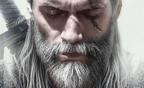 Henry Cavill como Geralt série The Witcher