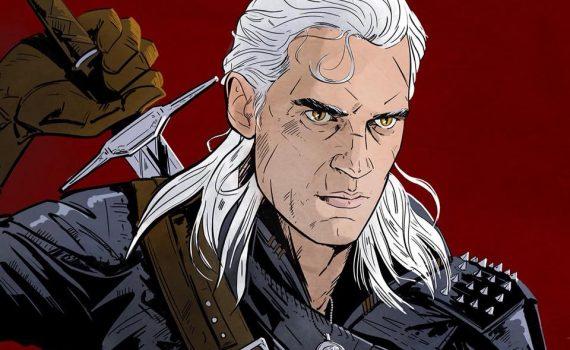 Henry Cavill como Geralt