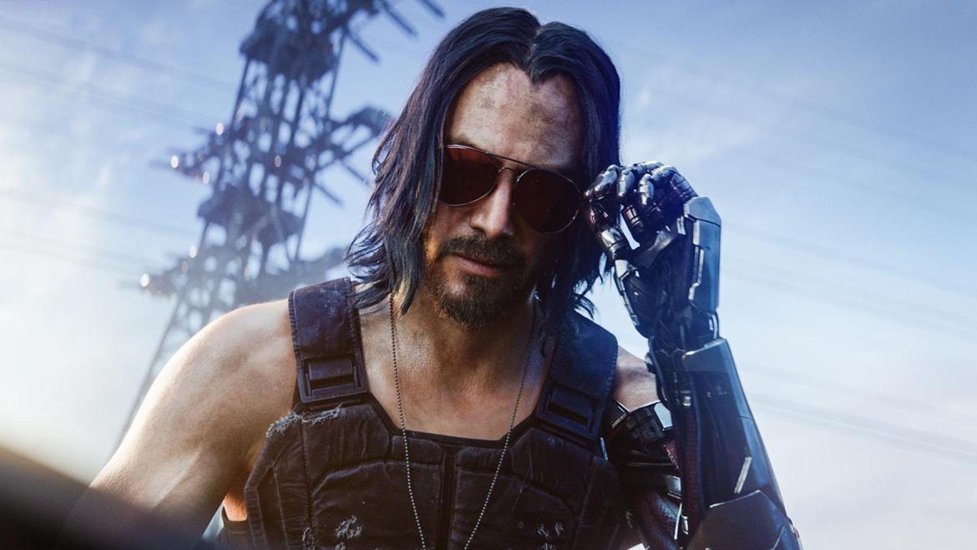 Keanu Reeves adorou tanto Johnny Silverhand que pediu o dobro de trabalho  em Cyberpunk 2077! - Vale do Pontar